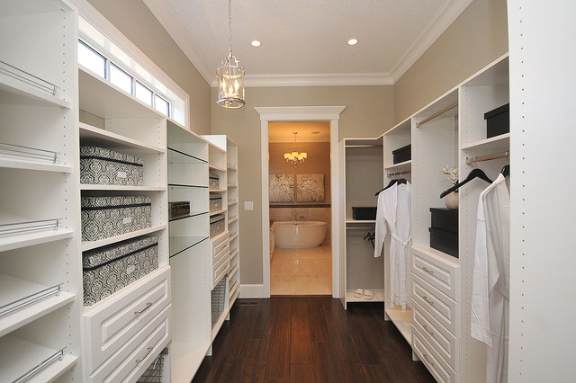 Beau Inspiration For A Timeless Closet Remodel In Edmonton