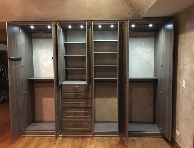 inside lighting. Custom Closet With Inside Lighting Traditional-wardrobe Inside Lighting D