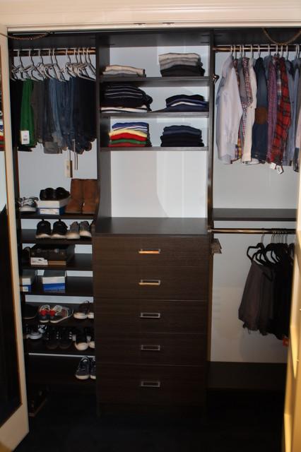 custom closets modern-closet