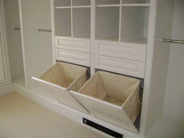 Custom Closets Wood - Traditional - Closet - new york - by Katie's ...