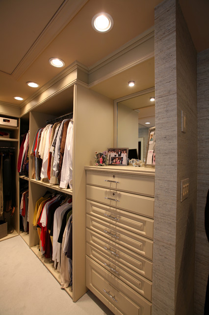 Custom Contemporary Kitchen contemporary-closet