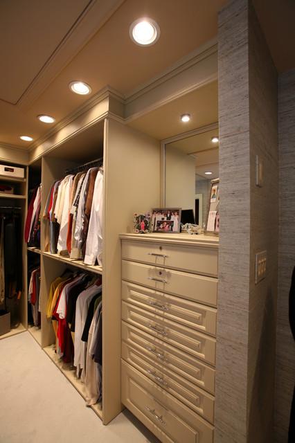 Custom Contemporary Kitchen contemporary-closet