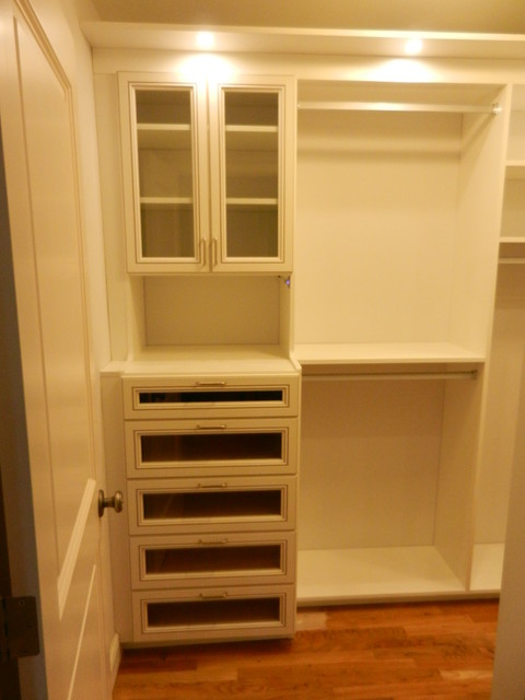Custom his and hers walk in closets in weston ct for His and hers walk in closet