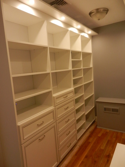 Custom his and hers walk in closets in weston ct other for His and hers closet