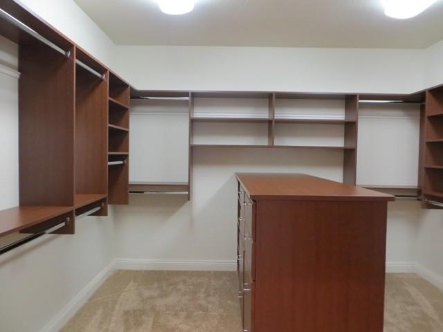 Custom Home contemporary-closet