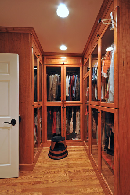 Custom Home Renovation traditional-closet