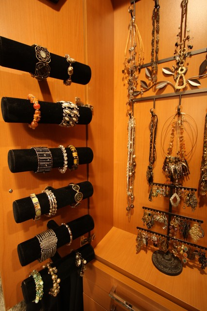Custom Jewelry Storage - Traditional - Closet - cleveland - by Architectural Justice