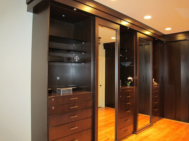 Captivating CUSTOM MADE BAMBOO WALKING CLOSET Contemporary Wardrobe