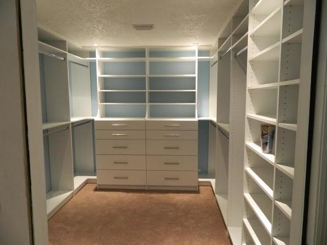 Custom Master Bedroom Closet