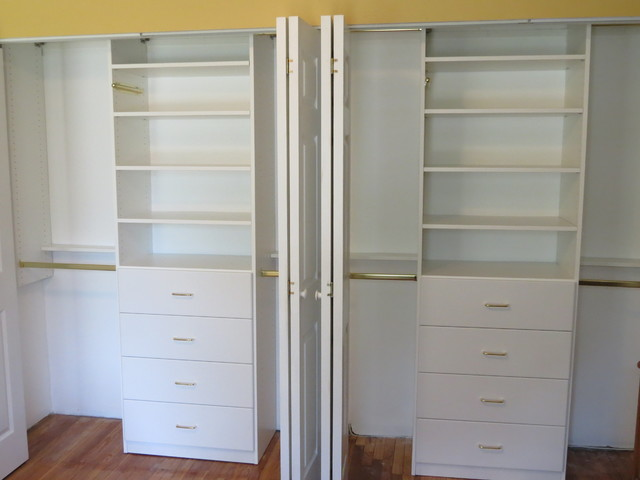 Custom Reach In Closet Contemporary Closet New York By Gotham Closets