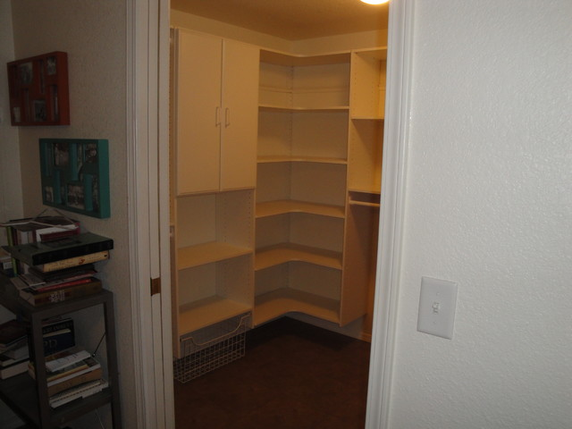 Custom Walk In Closet traditional-closet