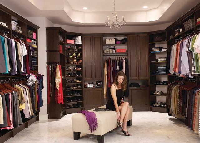 contemporary photo angeles custom wardrobe organizer in los pear walk organizers closet chocolate