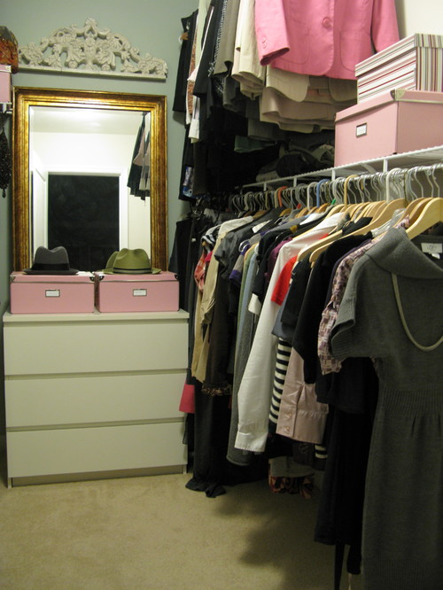 Designs by Shoshana eclectic closet