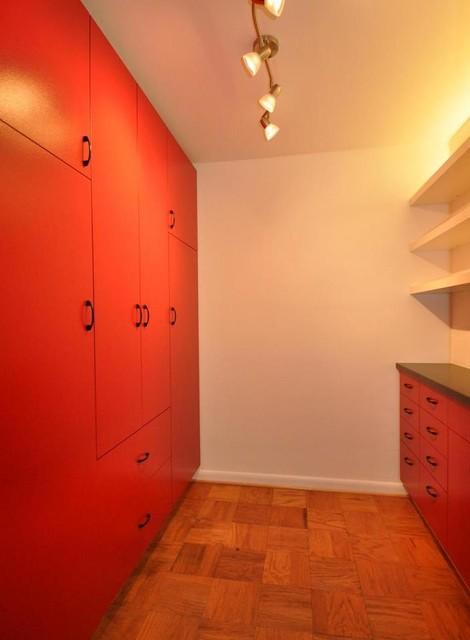 DIY Lacquer IKEA Closet - Contemporary - Closet - DC Metro - by ...