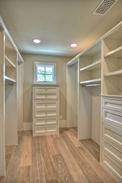 Dolphin Terrace traditional closet