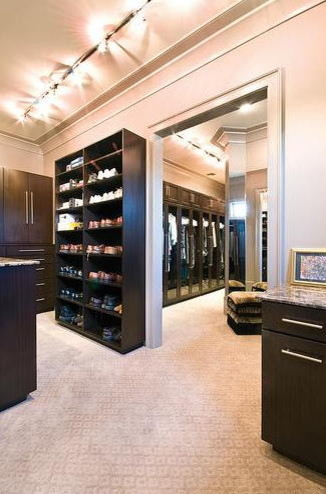 DOUBLE closet To Die For! contemporary-closet