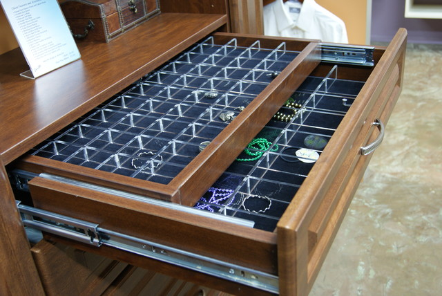 Double Jewelry Drawer - Closet - houston - by SpaceMan Home & Office