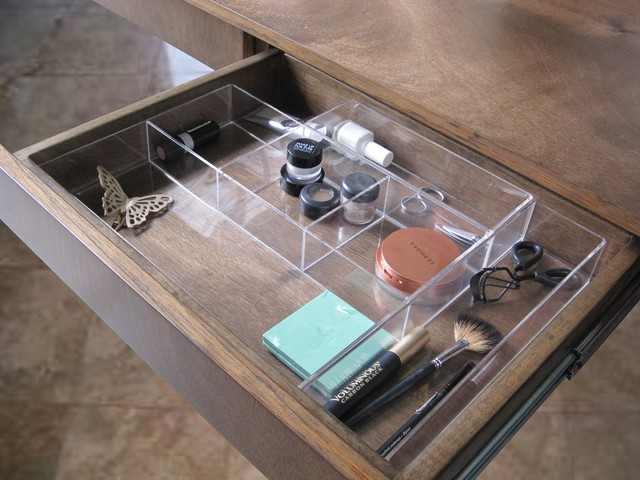 Drawer organizer traditional-closet