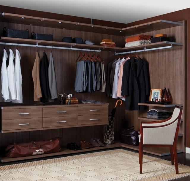 Dream Closets contemporary-closet