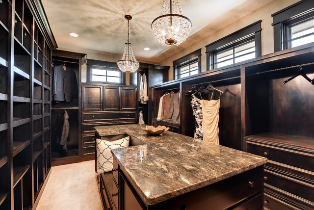 Dream Home Master Closet - Transitional - Closet - Minneapolis - by ...