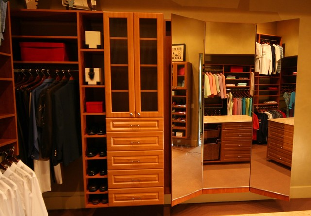Dream Home Showcase Traditional Wardrobe