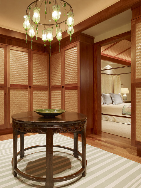 Dressing Room - tropical - closet - hawaii - by GT Design, Inc.
