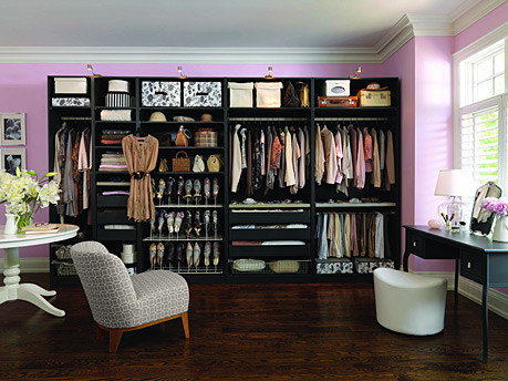 Dressing Room contemporary closet