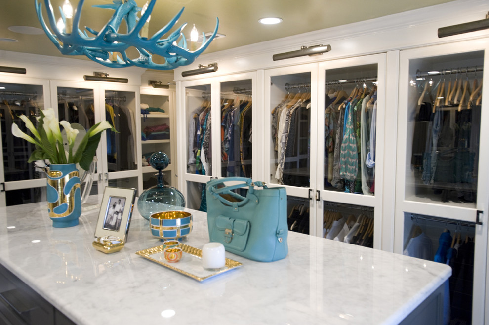 Closet - modern closet idea in Richmond