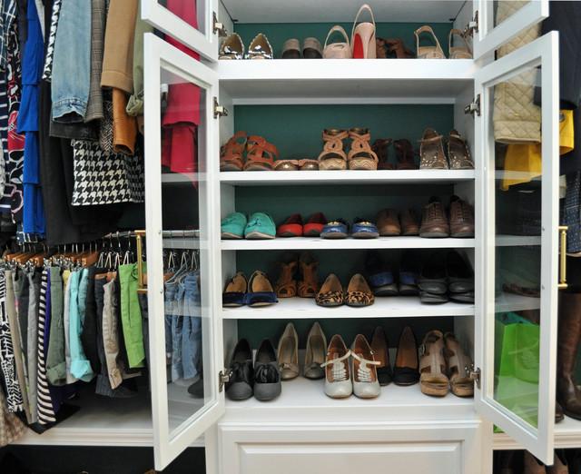 Hebert Closet- Louisiana traditional-closet