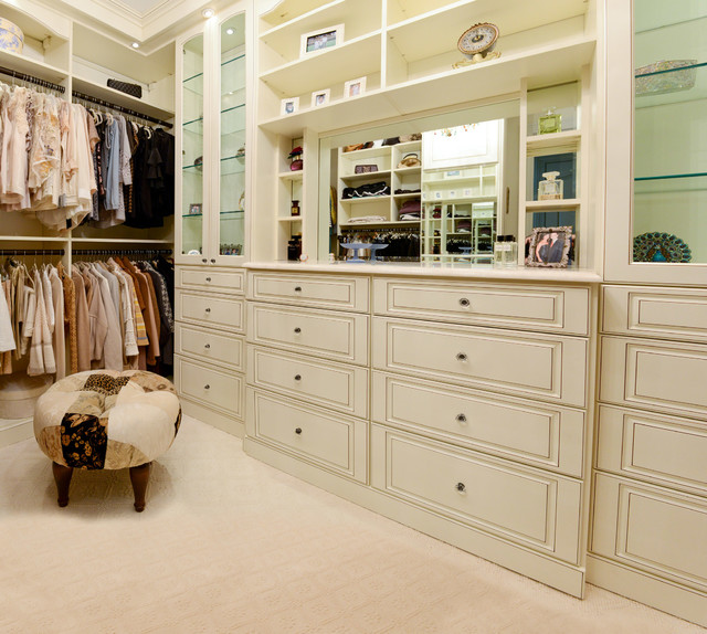 Dressing Room - Traditional - Closet - other metro - by ...