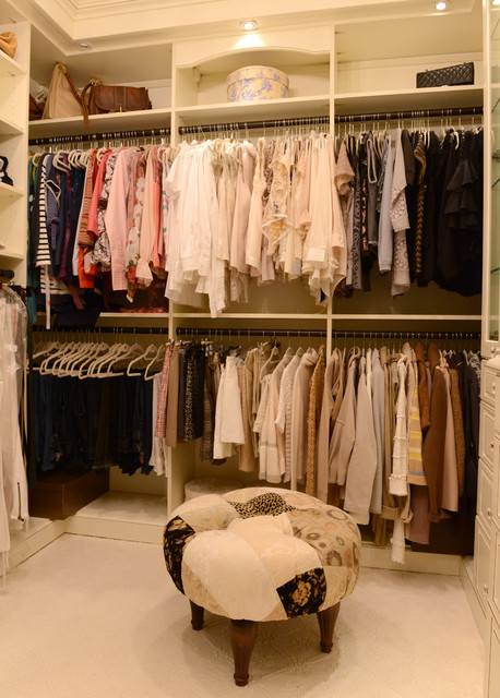 dressing room - traditional - wardrobe - new york -