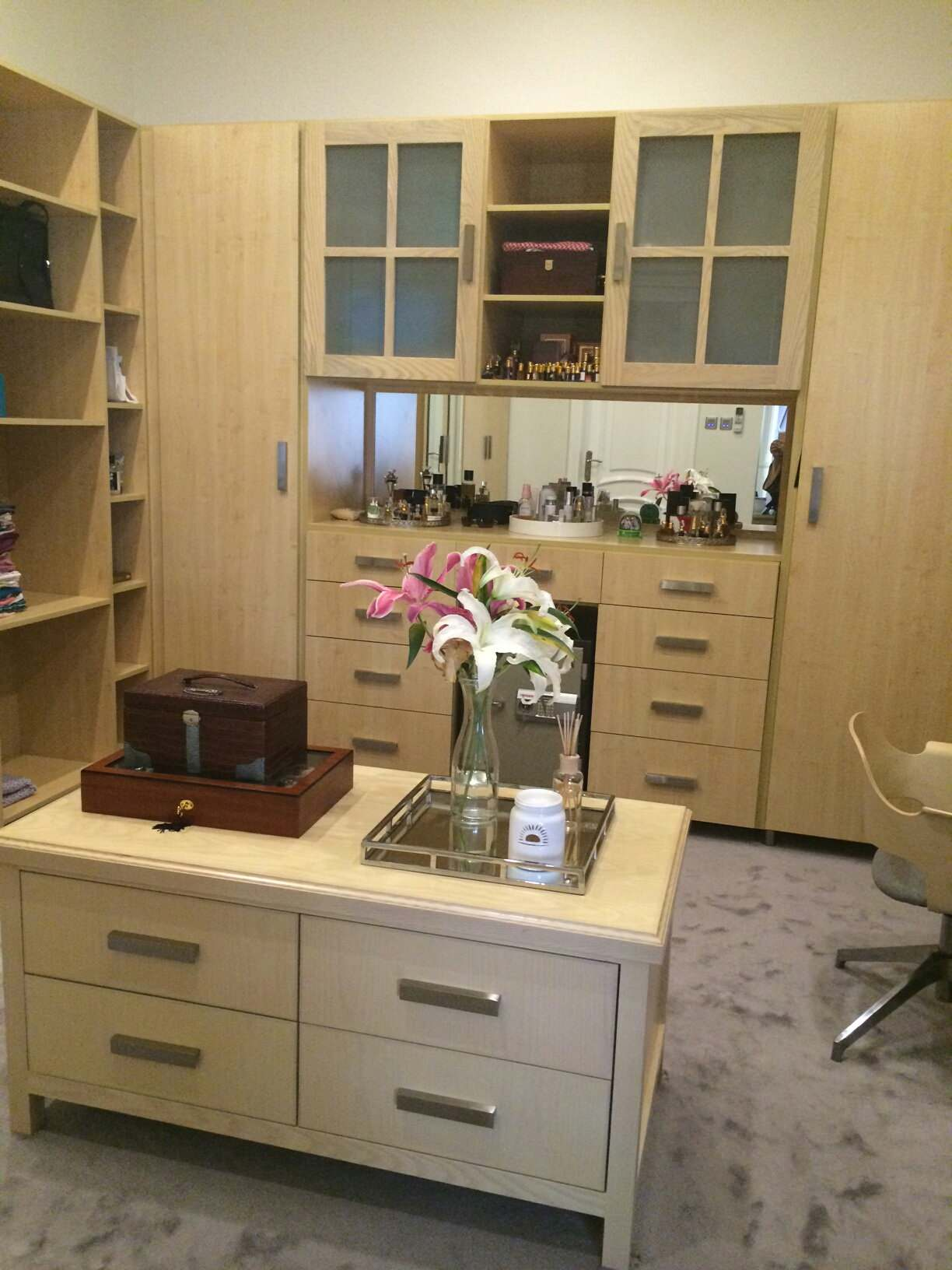 Dressing Rooms/Walk-In Closets