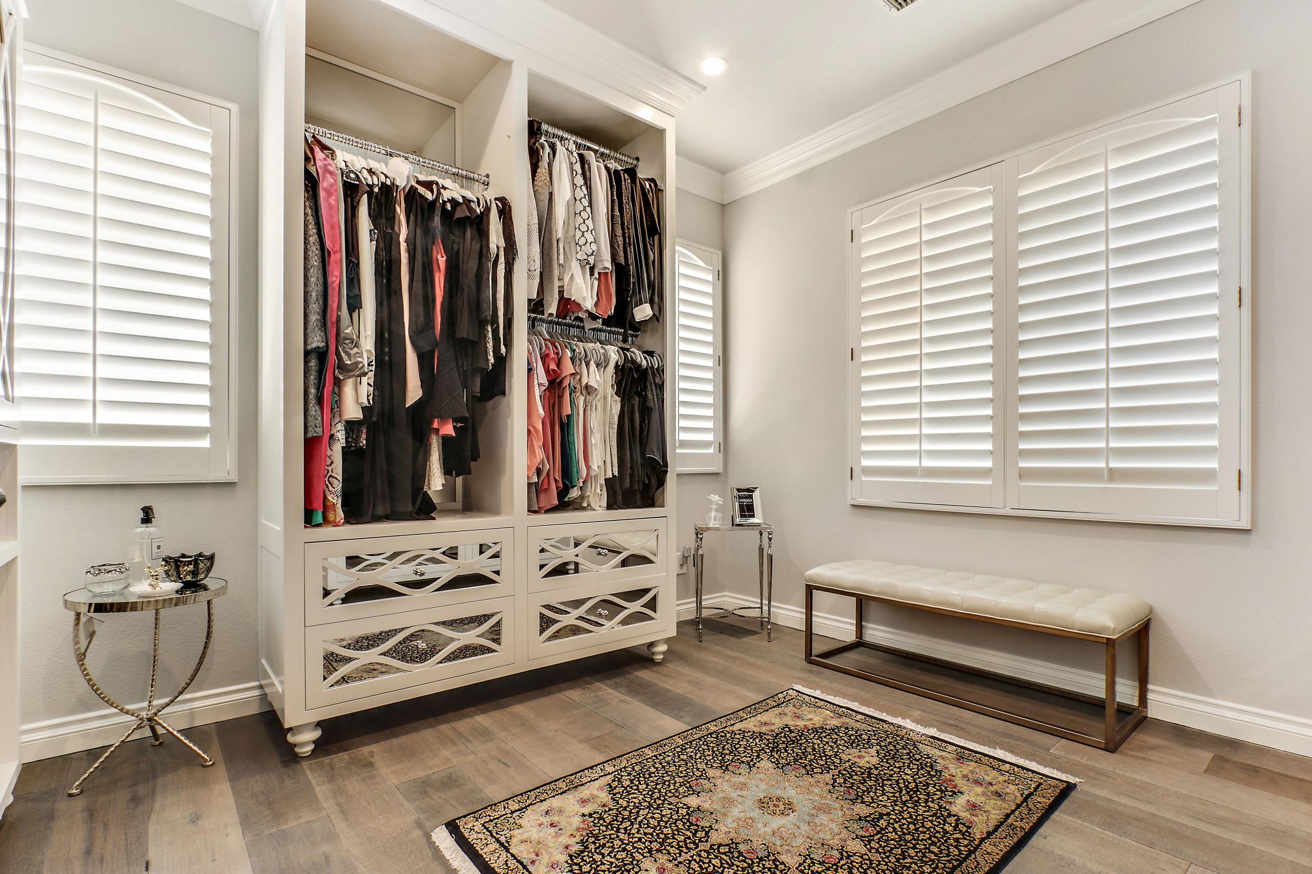 Ebony and Ivory Dream Custom Built Closets