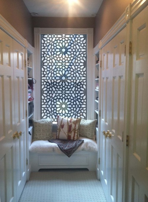 Did The Arabic Architecture Inspire You Designing This Window
