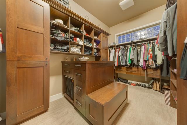 Elegant Cochrane Country Home - Traditional - Closet - Calgary - by ...
