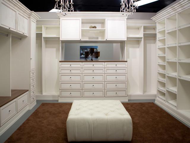 elegant walk in closet