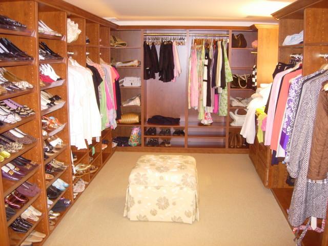 Fancy luxury closet modern closet boston by closet solutions