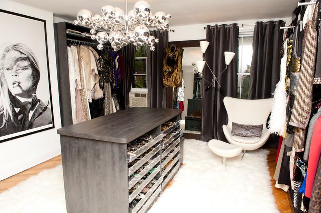 Fashion And Style Expert Mary Alice Stephensonu0027s Closet Contemporary Closet