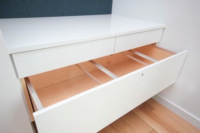 Floating File Cabinet modern closet