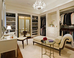 Forest Hill Road traditional-closet