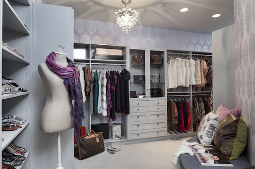 Forest Hills Residence - Her Closet