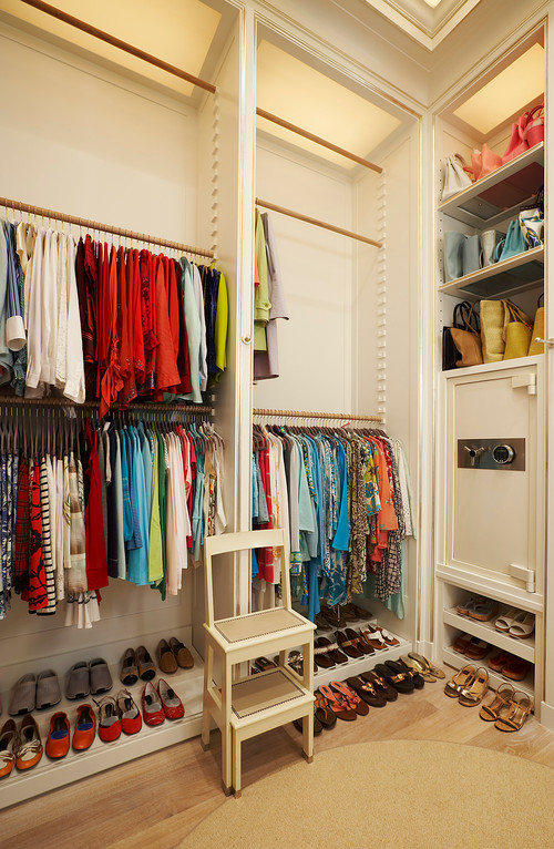 Wardrobe Storage Solutions for the Organizationally challenged {Simple hacks to increase space}