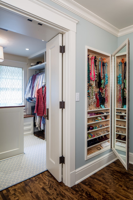 Delightful Traditional Closet By J Korsbon Designs