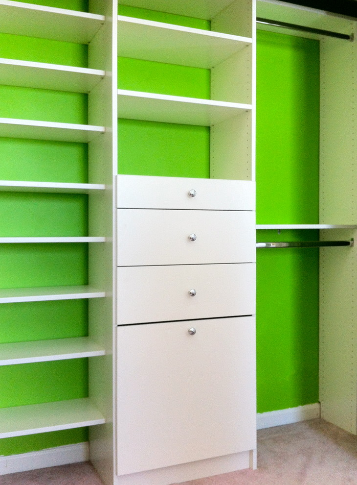 Custom Kid's Closets with Drawers