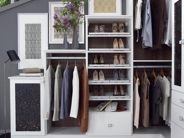 Garden Roof Loft Closet contemporary-closet