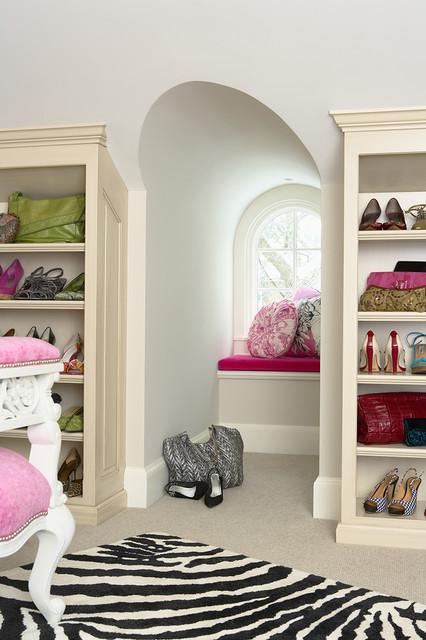 Girard Avenue Residence Closet 5 contemporary-closet