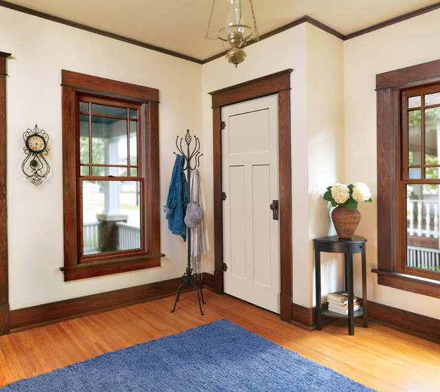 Interior design painted trim and stained doors ask home for Stained or painted trim