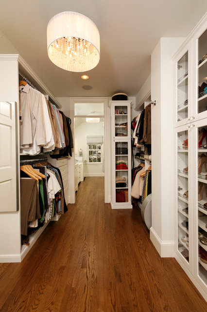 GREEN with Envy: LEED Certified Whole House Renovation traditional-closet