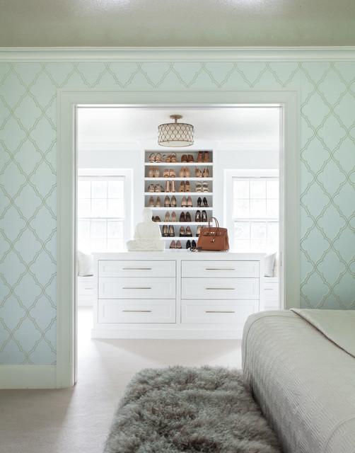 Greenwich Residence - Magazine Spread transitional-closet