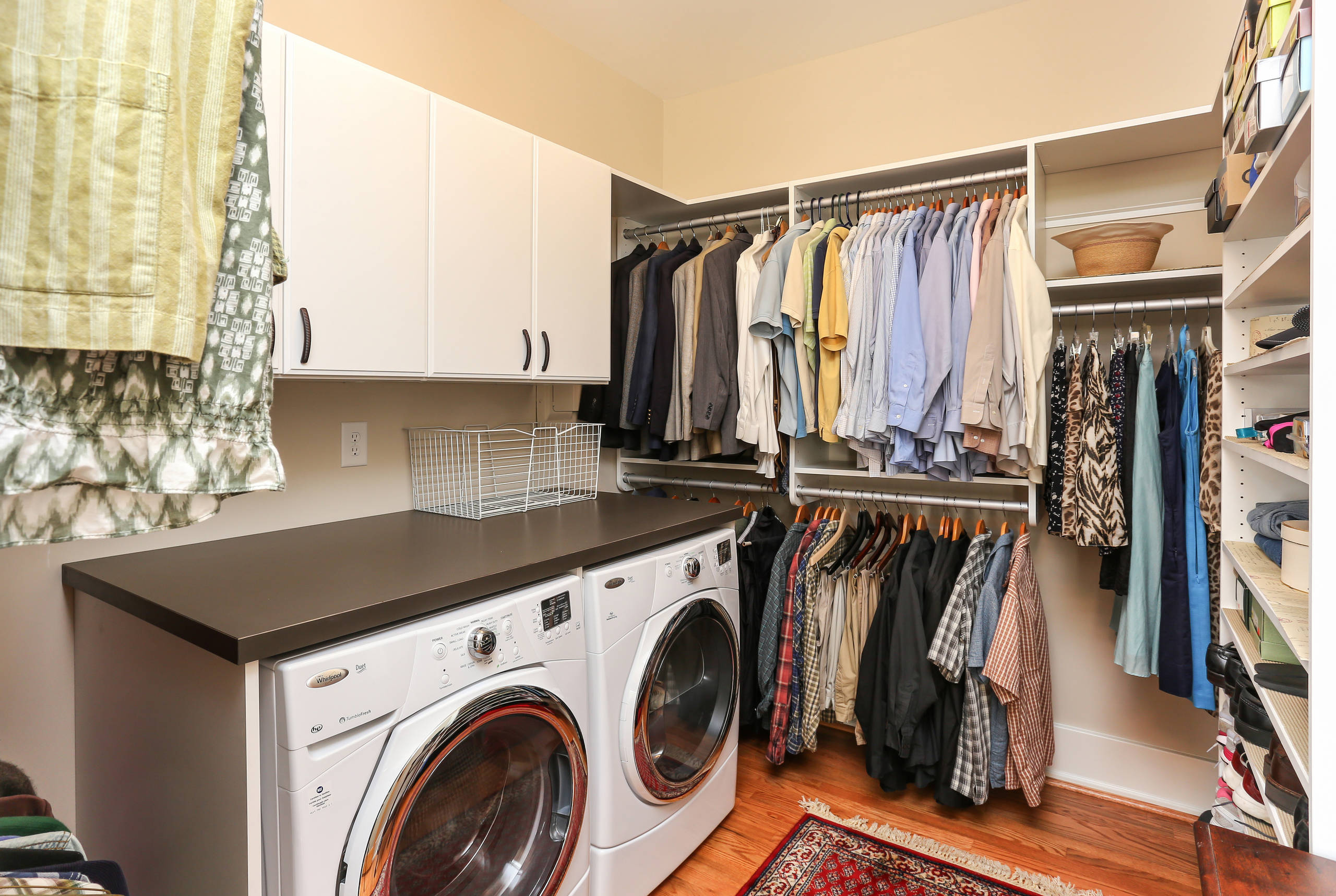 12+ Washer And Dryer In Master Closet Images
